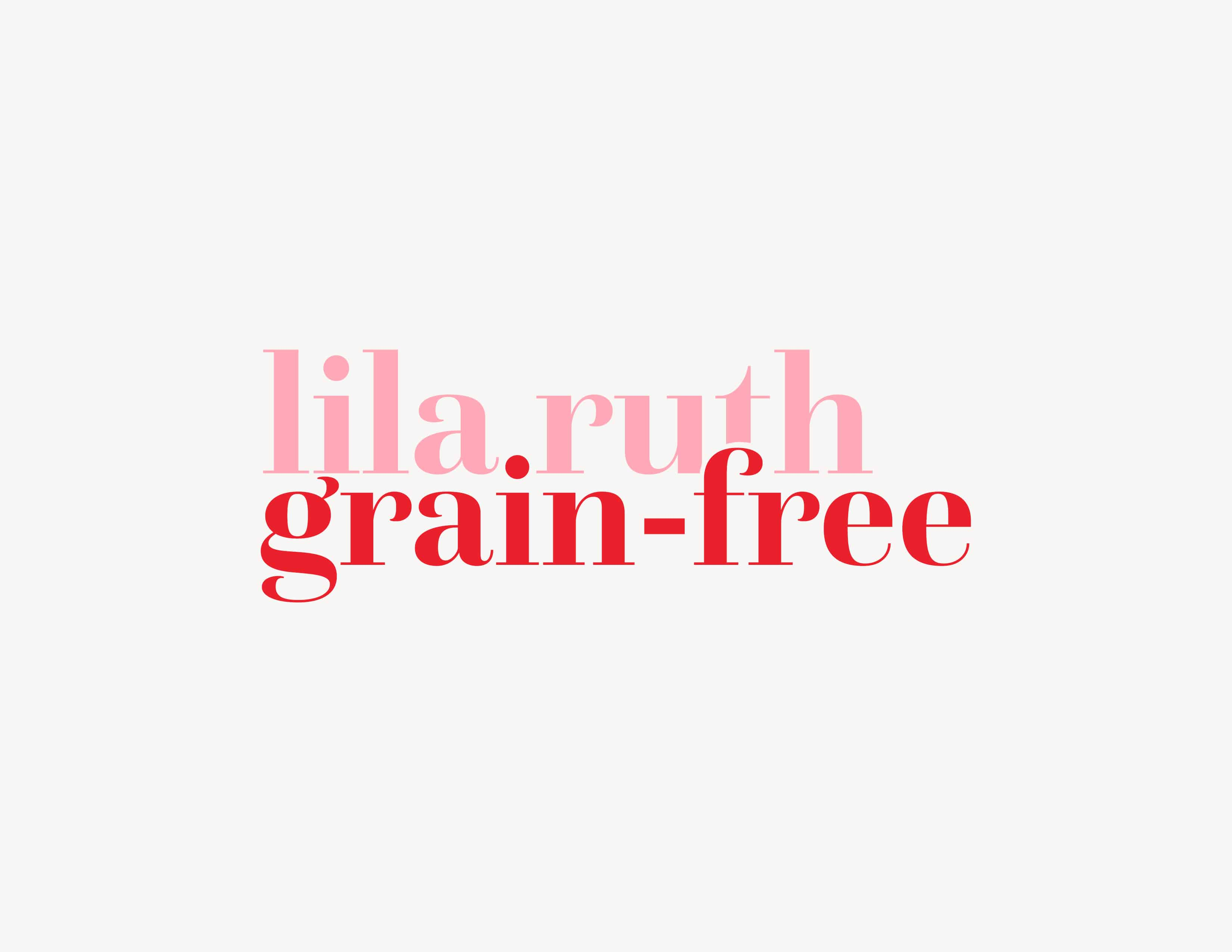 Lila Ruth Grain Free Logo Design