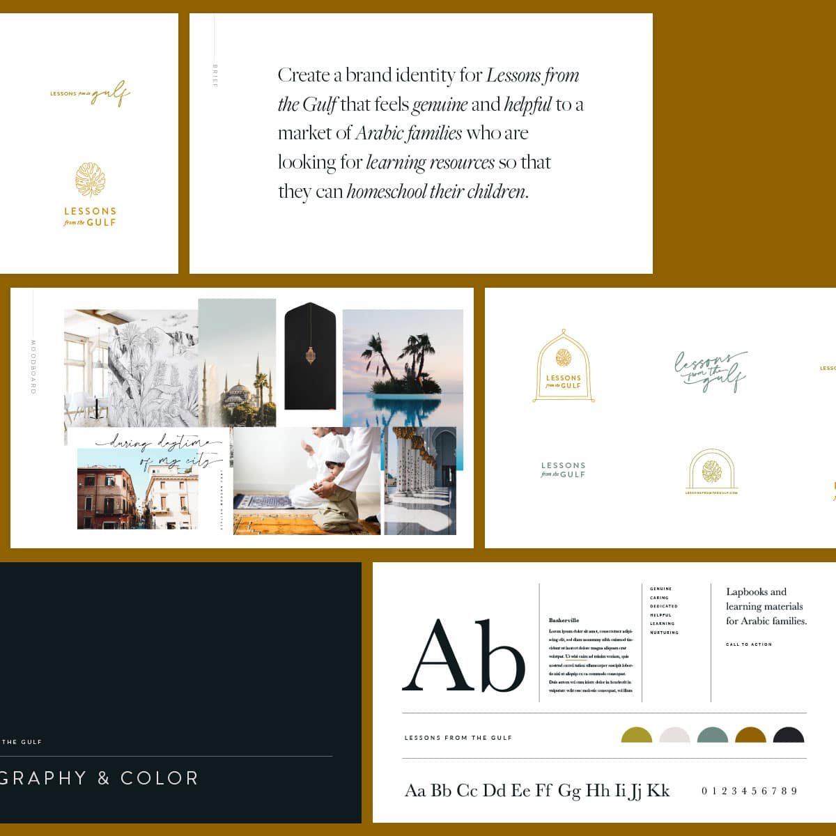 Lessons from the Gulf web design and branding